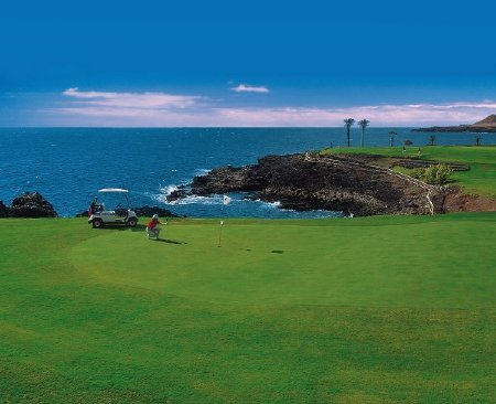 Amarilla Golf: ocean view