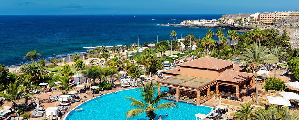 H10 Costa Adeje Palace: sea and pool views