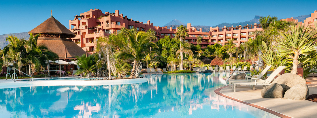 Sheraton La Caleta: pool and gardens